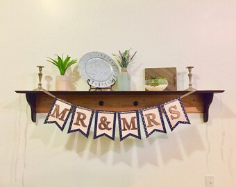 Mr & Mrs Wedding Banners