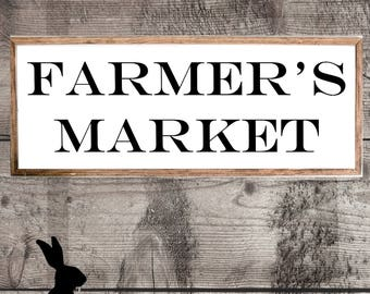 Rustic Farmhouse Printable, Farmer's Market, Digital Download, Wall Art, Gallery Wall, Fixer Upper, Country Chic