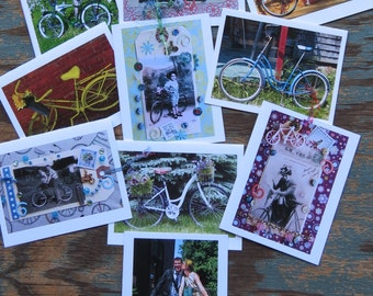 Vermont Bicycle Greeting Cards