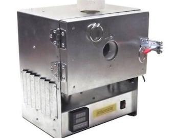 SALE! Programmable Universal Electrical Muffle Kiln with Quartz Window