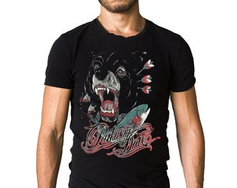 Parkway Drive Shark Against Octopus T-Shirt
