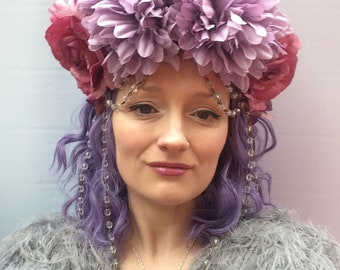 Flower Fairy Jewelled Floral Crown