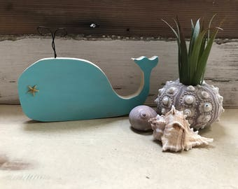 Whale, Whale art, Wood whale, Sea Life Art, Nursery Decor, Beach style decor, coastal living decor, Whales, Nautical decor