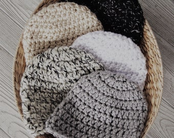 Chunky Beanie // Beanie // Neutral Beanie // Midtown Beanie // Crochet Beanie // Toque // Crochet // Winter Accessories