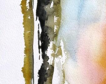 Estancia - Original Watercolor Painting
