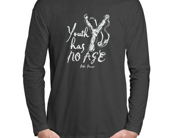 Youth Has No Age Long Sleeve T-Shirt