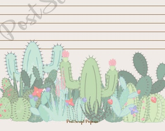 Prickly Patch - A5 Stationery - Writing Paper