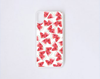 Watermelon iPhone X Case - Summer iPhone Case - Fruit iPhone X Case - Watermelon Illustration iPhone Case - Fruit iPhone Case