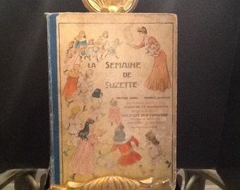 Children's book, La Semaine De Suzette.