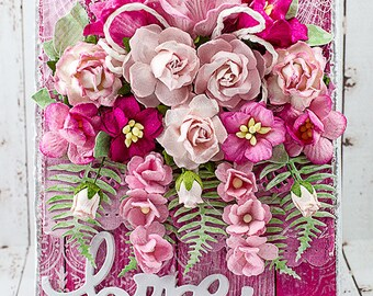 Shabby Chic Pink Hope Encouragement Card