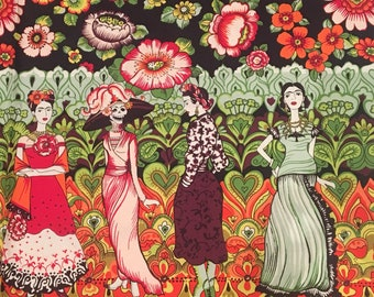 Alexander Henry Frida La Catrina cotton