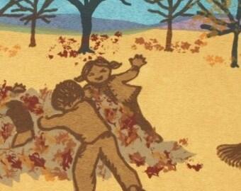 This Season's Leaf Lovers    by Barbara Fernekes. Hughes