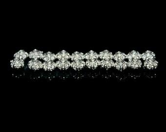 Twenty (20) x 5mm Shiny 925 Sterling Silver Rondelle Spacer Beads. 5mm Sterling Silver Beads. Bright Sterling Silver Beads