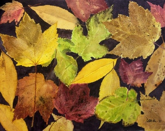 Autumnal - Watercolor Painting