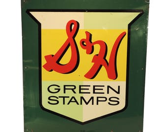 S & H Green Stamps M - 215 Sign
