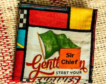 Vintage Racing - Handkerchief / Pocket Square