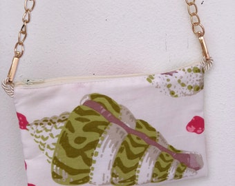 Pink & Green Coral Crossbody- The Sunsationals