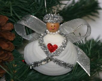 Cayman Christmas clam shell Angel
