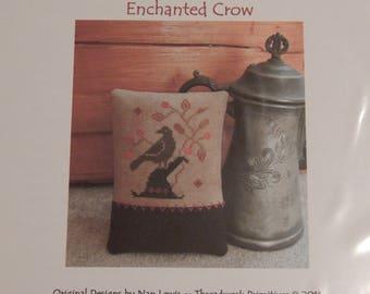 Enchanted Crow by Threadwork Primitives