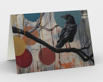 Stationary card: Consider the raven