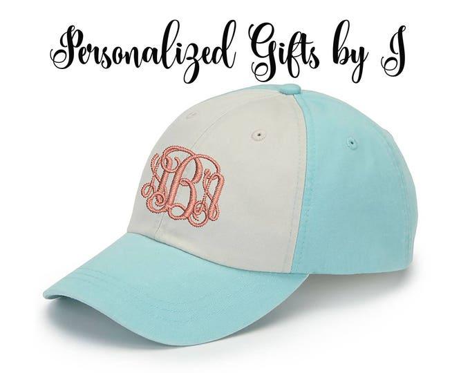 Monogrammed Hat Set of 7 Baseball Cap, Bridesmaid Gift, Groomsman Gift, Personalized, Monogrammed