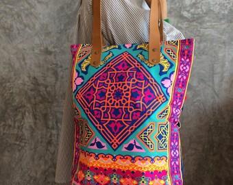 Beach tote bag / Bohemian Bag/ Summer / Bridesmaid gift / Bachelorette Party
