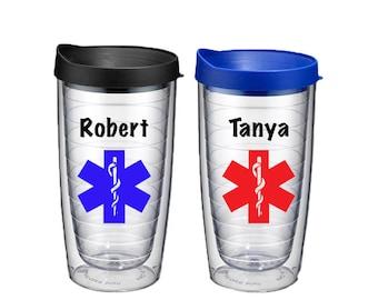 EMT Tumbler - Emt Gift - EMS Coffee Cup - Paramedic Gift - Ambulance - First Responder - Gifts for ems - Medical Service Gift - Emt