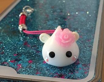 Hoppe Chan Keychain charm rose