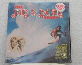 "Jan & Dean - ""The Jan and Dean Story"" vinyl record"