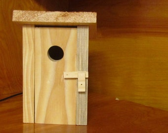 DIY Birdhouse Kit~Birdhouse~Wooden Outhouse Birdhouse Kit For Children and Adults~Birthday Party~Educational~Classroom~Outdoors~Yard Decor