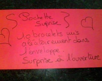 Pocket surprise set of 10 bracelets set at random :)