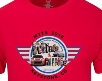 Minis & MINIs Int'l Club MTTS t-shirt