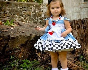 Wonderland dress Etsy