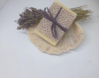 Lavender goatsmilk soap.