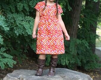Best Friends Dolman Dress Pattern  - Ellie Inspired Dress Pattern - Size 1 - 16