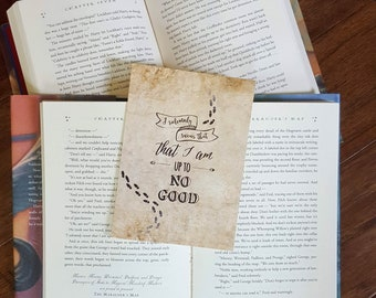 Harry Potter - Marauder's Map - 5x7 Print