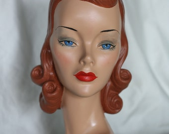 Mannequin Head #25 Jean  plus  20.00 shipping as of 3/3/18