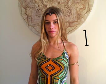 Halter top, summer top,festival wear,African print,Dashiki tops,boho top,festival tops,festival clothing