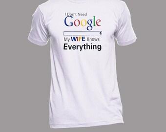 Funny Husband and Wife T-Shirt XXL - Wife Shirts - Husband Tees - Funny Shirts - Humor Tees - Anniversary Shirts