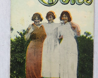 Early 1900s Risque Postcard Take Your Choice