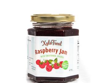 NO added sugar Raspberry Jam