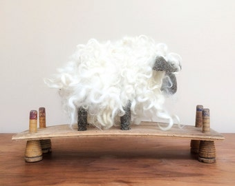 Primitive Folk Art Sheep