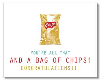CONGRATULATIONS Card. AWESOME Funny Congratulations Congrats Card. Hilarious 90s Card. Graduation Card. Promotion Card. New Job Card