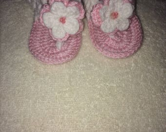 Crochetted Baby Shoes