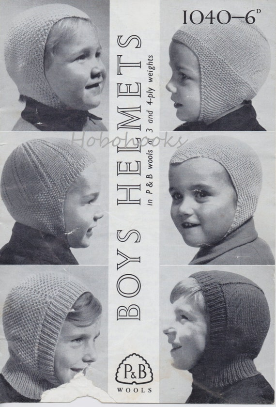 Boys Helmets Knitting Pattern Boys Hats Balaclava Knitted Hats
