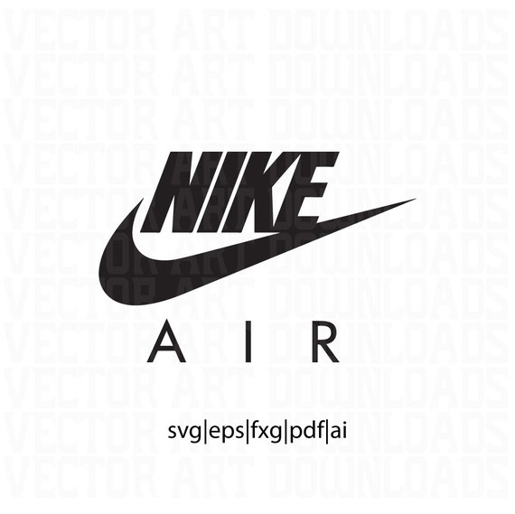 Nike Air Logo Inspired Vector Art, svg dxf fxg eps pdf ai format download