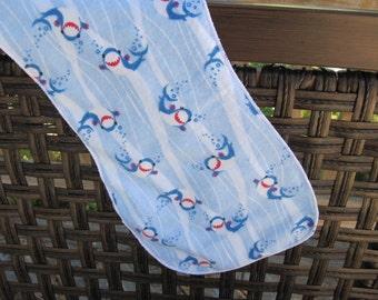 Fun  sharks Burp cloth