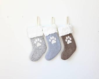 Personalized Pet Christmas Stockings | Decorative Xmas Stocking | Monogram Initial Stocking {Pet Christmas Stocking}