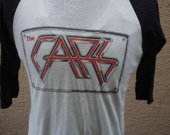 Size L (45) ** 1982 The Cars Concert Shirt (Double Sided)