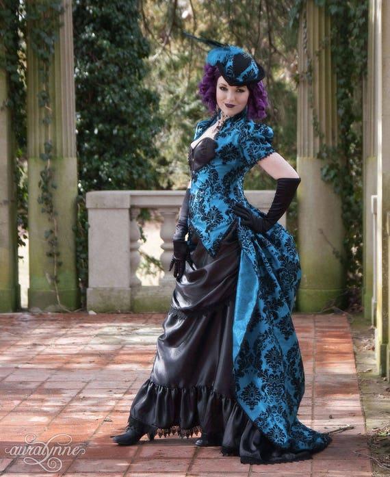 Gothic Wedding Dress Cerulean Dreams Alternative Wedding